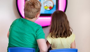 Indoor Playground touch screen games
