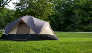 Camping pitch Basic