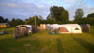 Camping pitch Deluxe